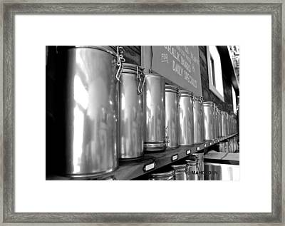 Tea Canisters  Framed Print by Mark Holden