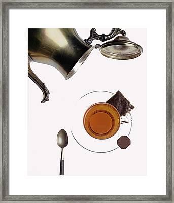 Tea For One Framed Print by Steven Huszar