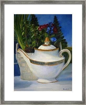 Tea For Two Framed Print
