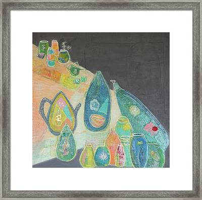 Tea For Two Too Framed Print