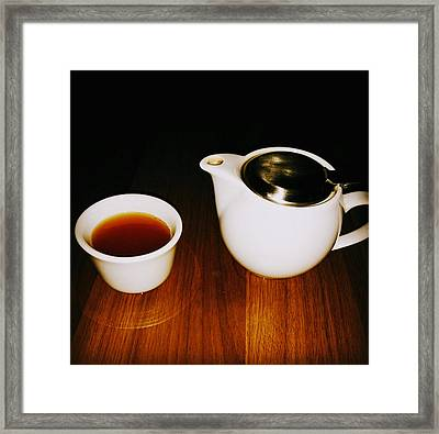 Tea-juana Framed Print by Albab Ahmed