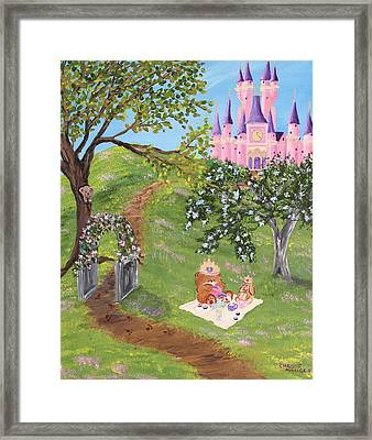 Framed Print featuring the painting Tea Party by Christie Minalga