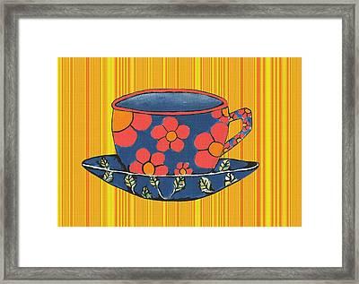 Tea Party Framed Print