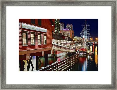 Tea Party Tourist Attraction Framed Print by Frozen in Time Fine Art Photography