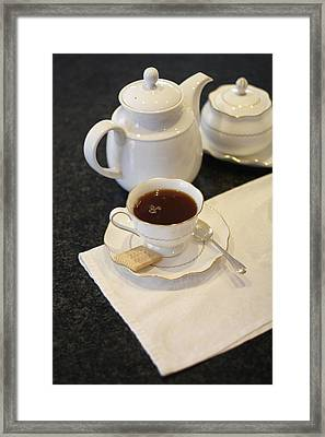 Tea Service Framed Print by Mark Platt