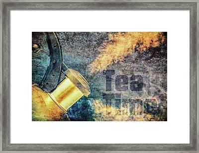 Tea Time Framed Print by Bob Orsillo