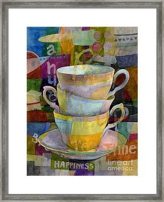 Tea Time Framed Print by Hailey E Herrera