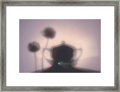 Tea Time Framed Print by larisa Fedotova