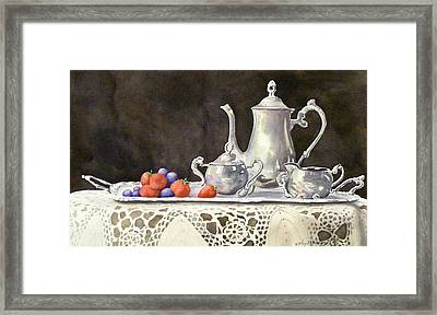 Tea Time  Original Framed Print