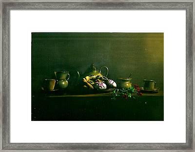 Tea Time Framed Print