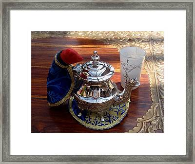 Tea Time Framed Print by Valia Bradshaw