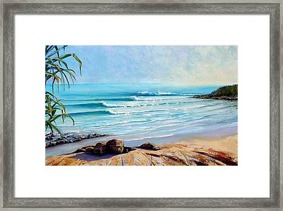 Tea Tree Bay Noosa Heads Australia Framed Print
