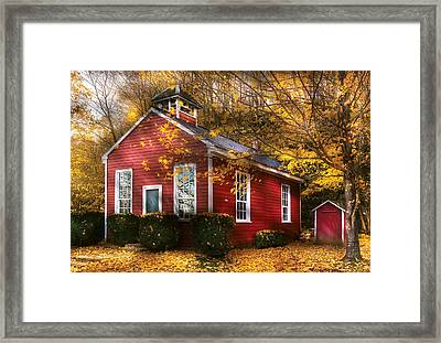 Teacher - School Days Framed Print by Mike Savad