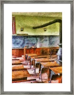 Teacher - Pay Attention In Class Framed Print