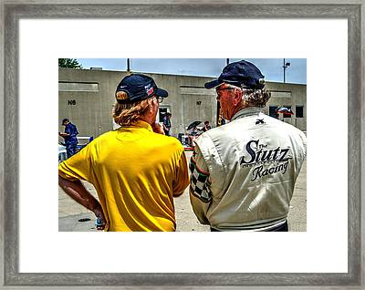 Team Stutz Framed Print by Josh Williams