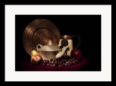Teapot Photographs Framed Prints