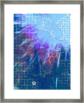 Tear In The Fabric Of Time Framed Print by Seth Weaver