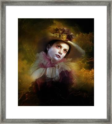Tear Swept Framed Print