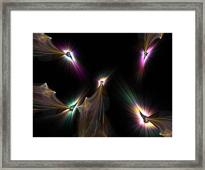 Tear The Darkness Framed Print by Ricky Kendall
