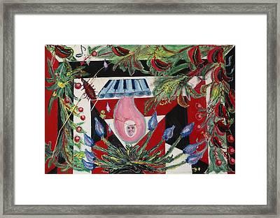 Teardrop Framed Print by Doina Falcon