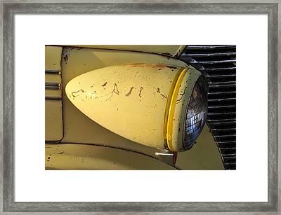 Teardrop Headlight Framed Print by David Lee Thompson