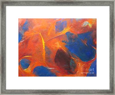 Tearing Apart Framed Print by Pax Bobrow