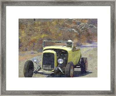Tearing It Up Framed Print by David King