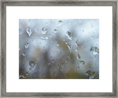 Tears For Sandy Framed Print