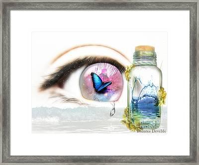Tears In A Bottle Framed Print