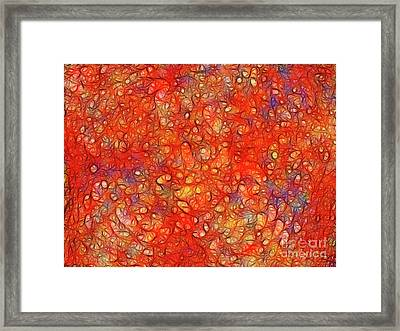 Tears In Heaven Framed Print by Wingsdomain Art and Photography