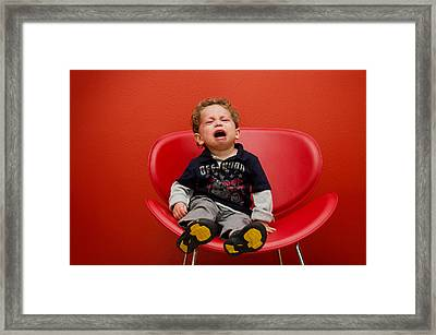 Tears Framed Print