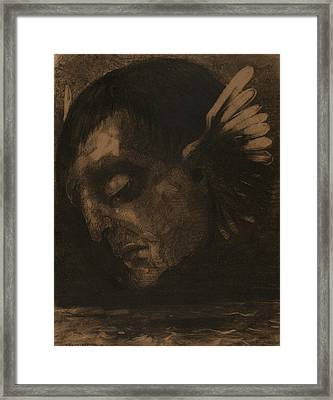 Tears Framed Print by Odilon Redon