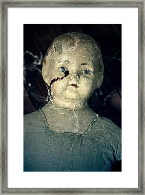 Tears Of Blood Framed Print by Joana Kruse