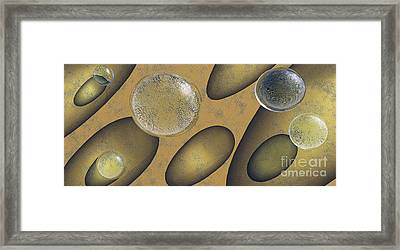 Tears Of Gold Framed Print by Richard Rizzo