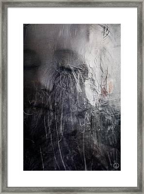 Framed Print featuring the digital art Tears Of Ice by Gun Legler