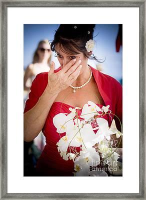 Tears Of Joy Framed Print by Jorgo Photography - Wall Art Gallery