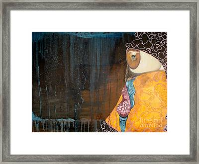 Tears Of Life Framed Print by Victoria Dietz