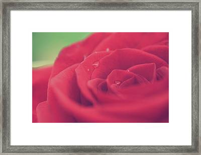 Tears Of Love Framed Print