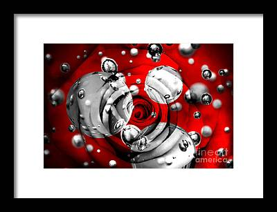 Roses Digital Art Framed Prints