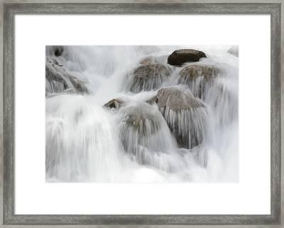 Tears Of The Mountain Framed Print