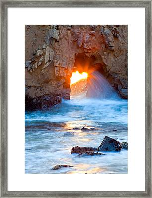 Tears Of The Sun Framed Print