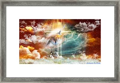 Tears To Triumph Framed Print by Dolores Develde