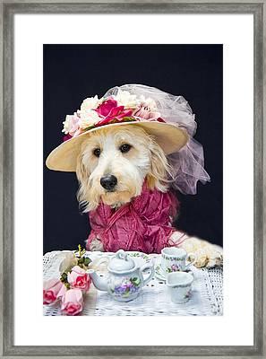Teatime With Kati Framed Print