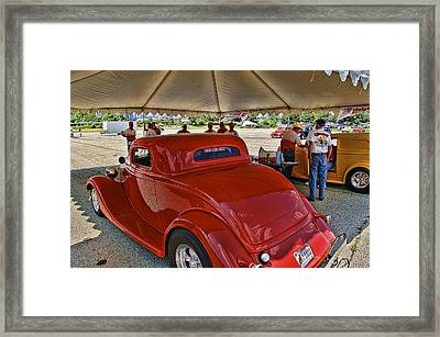 Tech Inspection Framed Print by Nick Roberts