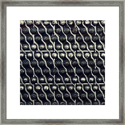 Tech Texture Framed Print by Joseph Skompski