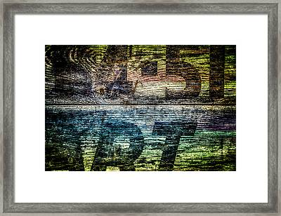 Technicolor Art Framed Print by Spencer McDonald