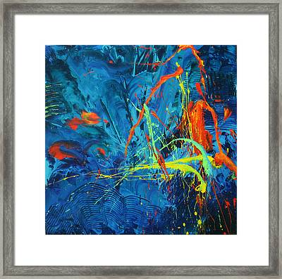 Technicolor Dreams Framed Print by Carrie Allbritton