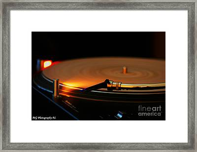 Framed Print featuring the photograph Technics  by Marty Gayler