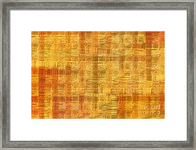 Abstract Printed Circuit Board Framed Print