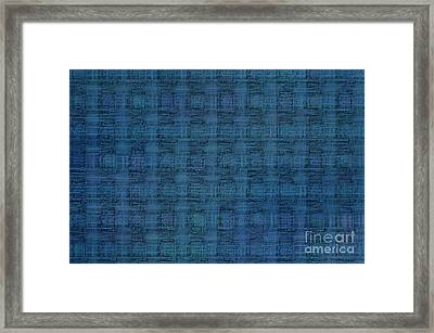 Technology Abstract - Printed Circuits Framed Print
